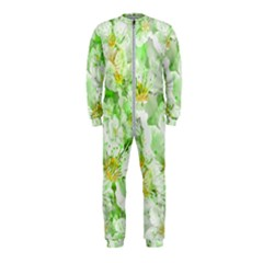 Light Floral Collage  Onepiece Jumpsuit (kids)