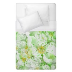 Light Floral Collage  Duvet Cover (single Size)