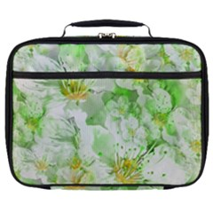 Light Floral Collage  Full Print Lunch Bag