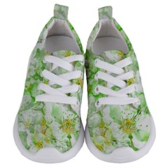 Light Floral Collage  Kids  Lightweight Sports Shoes