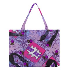 Purlpe Retro Pop Medium Tote Bag