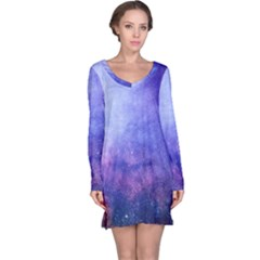 Galaxy Long Sleeve Nightdress