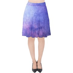 Galaxy Velvet High Waist Skirt