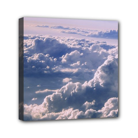 In The Clouds Canvas Travel Bag
