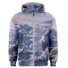 In The Clouds Men s Zipper Hoodie