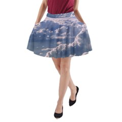 In The Clouds A Line Pocket Skirt