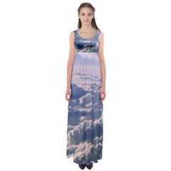 In The Clouds Empire Waist Maxi Dress