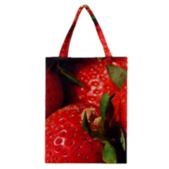 Red Strawberries Classic Tote Bag