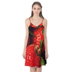 Red Strawberries Camis Nightgown