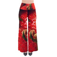 Red Strawberries Pants