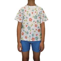 Abstract 1296713 960 720 Kids  Short Sleeve Swimwear