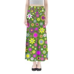 Abstract 1300667 960 720 Full Length Maxi Skirt