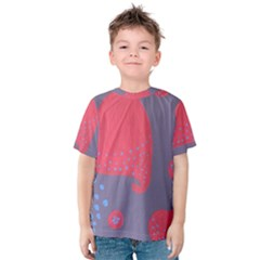 Lollipop Attacked By Hearts Kids  Cotton Tee