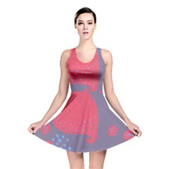 Lollipop Attacked By Hearts Reversible Skater Dress