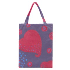 Lollipop Attacked By Hearts Classic Tote Bag