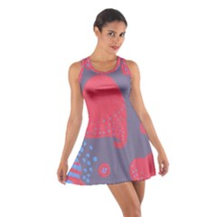 Lollipop Attacked By Hearts Cotton Racerback Dress