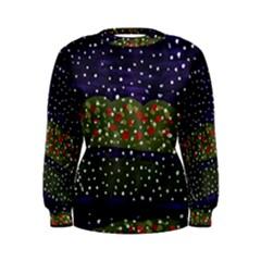 Snowy Roses Women s Sweatshirt