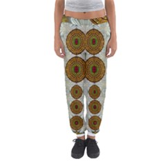 Spring In Mind And Flowers In Soul Be Happy Women s Jogger Sweatpants