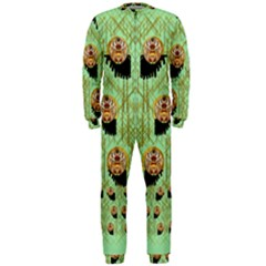 Lady Panda With Hat And Bat In The Sunshine Onepiece Jumpsuit (men)