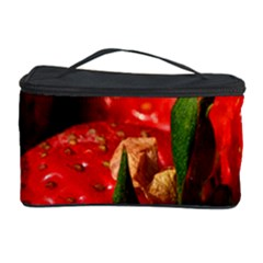 Red Strawberries Cosmetic Storage Case