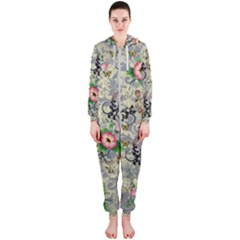 Angel Floral Hooded Jumpsuit (ladies)