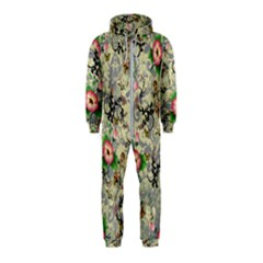 Angel Floral Hooded Jumpsuit (kids)