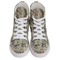 Angel Floral Men s Hi Top Skate Sneakers