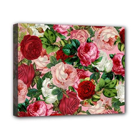 Rose Bushes Canvas 10  X 8