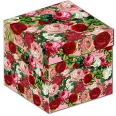 Rose Bushes Storage Stool 12