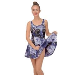 Rose Bushes Blue Inside Out Dress