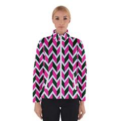 Chevron Pink Green Retro Winterwear