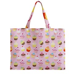 Baby Pink Valentines Cup Cakes Mini Tote Bag