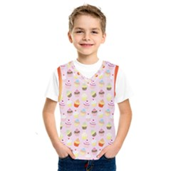 Baby Pink Valentines Cup Cakes Kids  Sportswear
