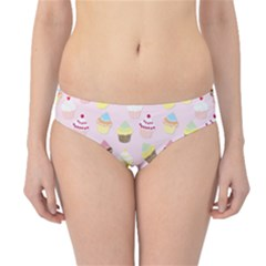 Baby Pink Valentines Cup Cakes Hipster Bikini Bottoms