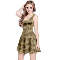 Operation Desert Cat Camouflage Catmouflage Reversible Sleeveless Dress