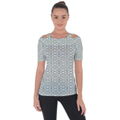 Vintage Ornate Pattern Short Sleeve Top