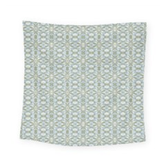 Vintage Ornate Pattern Square Tapestry (small)