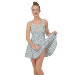 Vintage Ornate Pattern Inside Out Dress