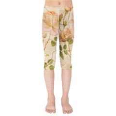 Rose Flower 2507641 1920 Kids  Capri Leggings