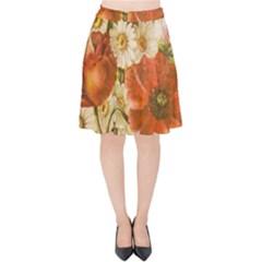 Poppy 2507631 960 720 Velvet High Waist Skirt