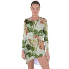 Peony 2507643 1920 Asymmetric Cut Out Shift Dress