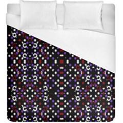 Futuristic Geometric Pattern Duvet Cover (king Size)
