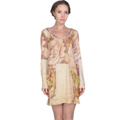 Cracks 2001001 960 720 Long Sleeve Nightdress