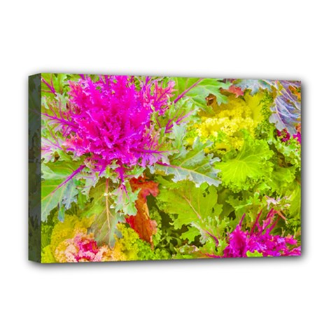 Colored Plants Photo Deluxe Canvas 18  X 12