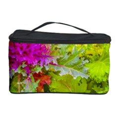 Colored Plants Photo Cosmetic Storage Case