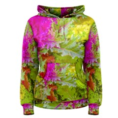 Colored Plants Photo Women s Pullover Hoodie