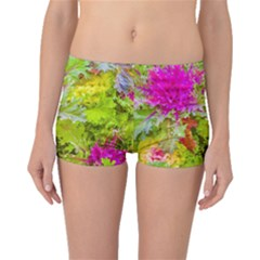 Colored Plants Photo Boyleg Bikini Bottoms