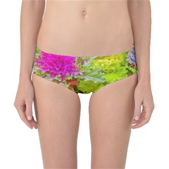 Colored Plants Photo Classic Bikini Bottoms