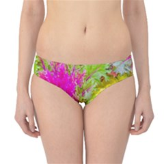 Colored Plants Photo Hipster Bikini Bottoms