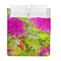 Colored Plants Photo Duvet Cover Double Side (full/ Double Size)